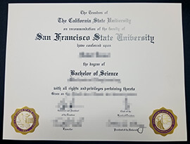 Buy SFSU Diploma, San Francisco State University Fake Degree