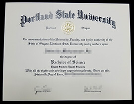 Buy Portland State University diploma, buy PSU fake degree