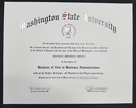 How to buy a Washington State University diploma?
