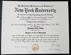 Get the New York University diploma certificate quickly