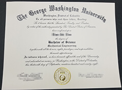 How to quickly order a high-quality George Washington University certificate online? Buy fake GWU diploma