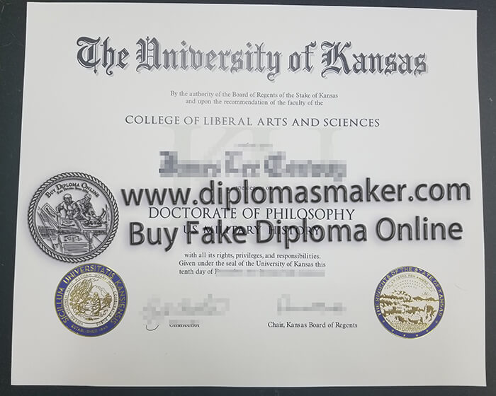 How Can I Buy A Fake University of Kansas Certificate Online?