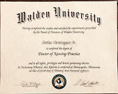 How to buy high-quality fake Walden University certificates online?
