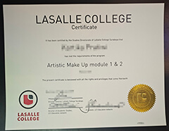 Where to buy a diploma from La Salle College?
