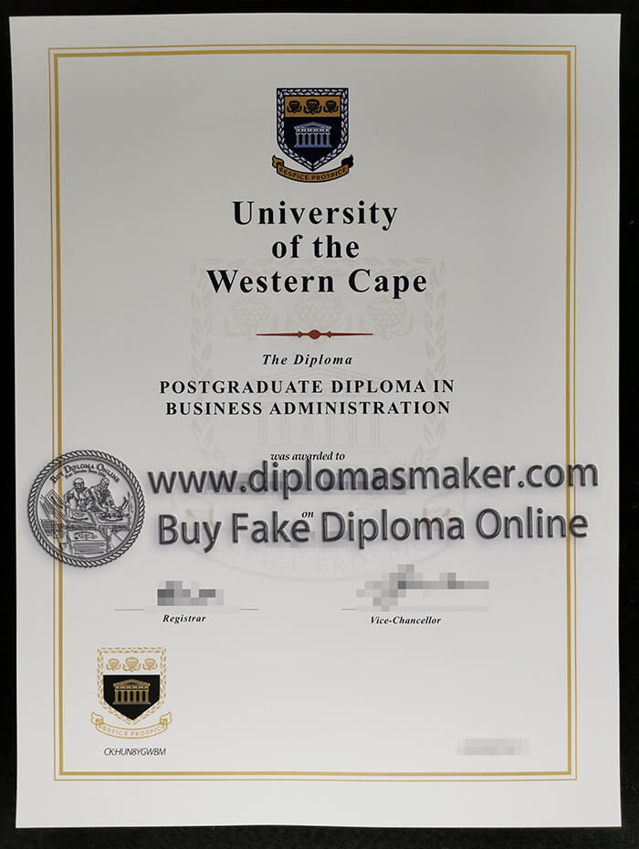 how to buy fake University of the Western Cape(WUC) diploma