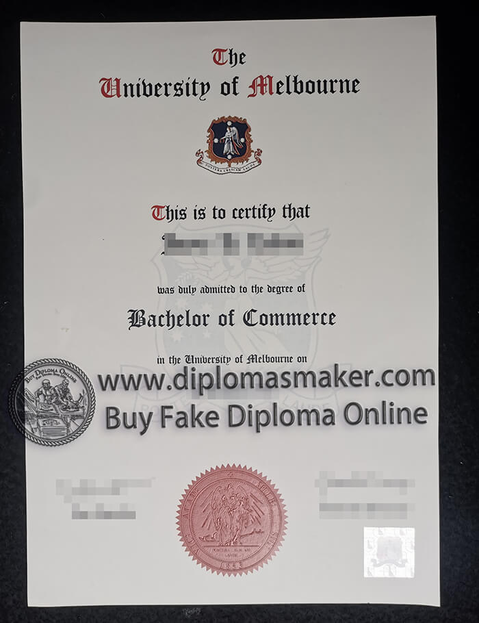 how to buy a University of Melbourne certificate