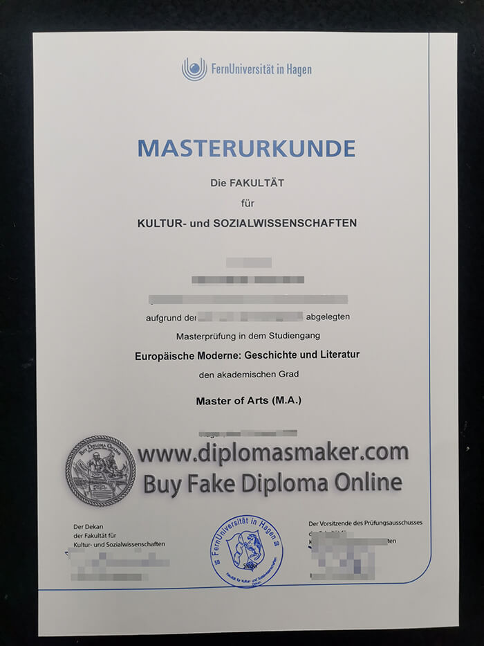 How much can I buy a Fernuniversität Hagen diploma