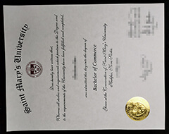 Professional production of fake Mary's University certificate