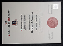 Fake University of Melbourne diploma.I have all the certificates you need