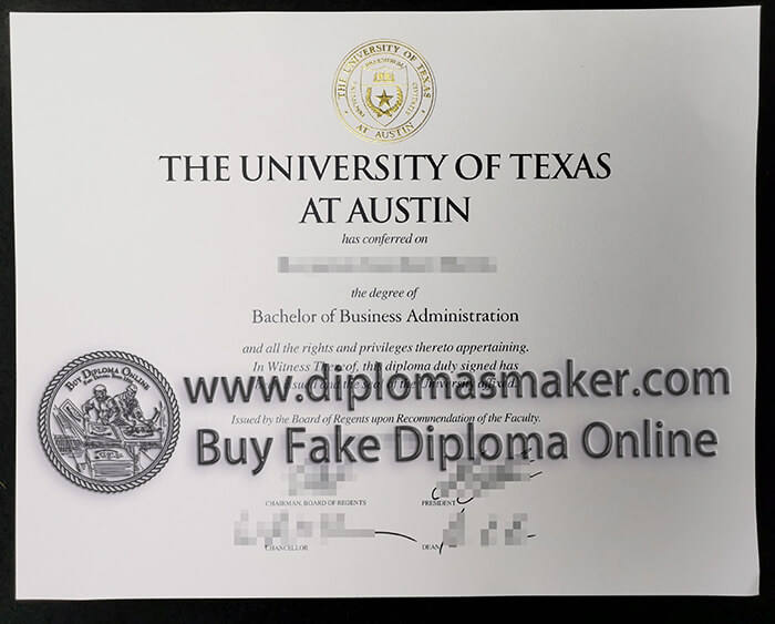 how to buy University of Texas at Austin diploma