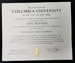 where can I get Columbia University degree certificate?