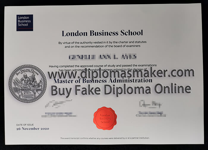 how to buy London Business School diploma