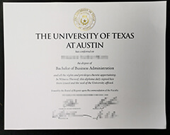 Can I buy fake University of Texas at Austin certificates online?