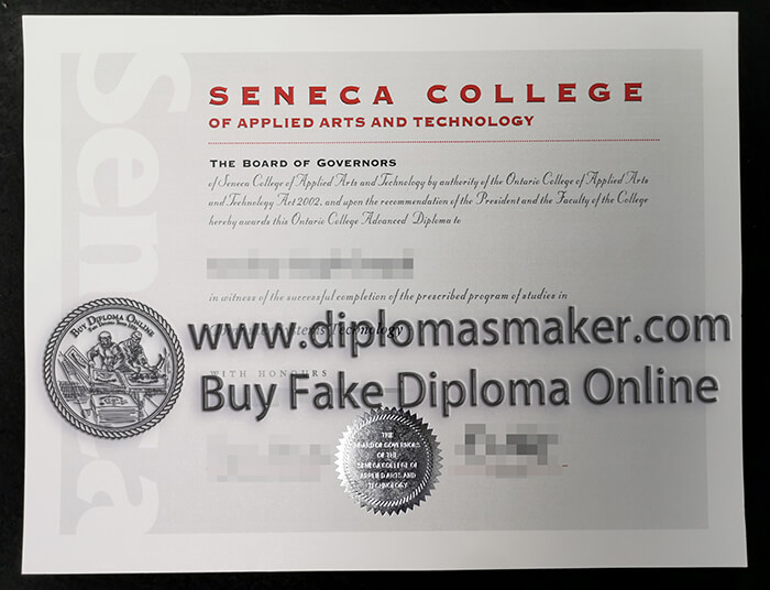 buy Seneca College diploma
