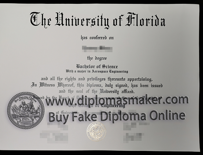 buy University of Florida diploma
