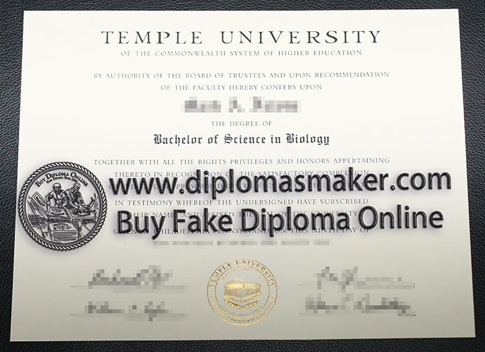 how to buy fake Temple University diploma