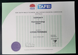 How to get NSW TAFE certificate? buy TAFE NSW degree online