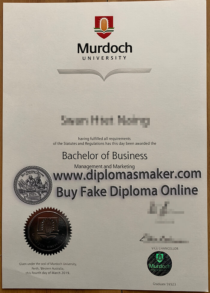 how to buy a fake Murdoch University diploma