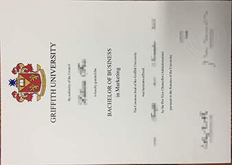 Buy fake Griffith University certificate.