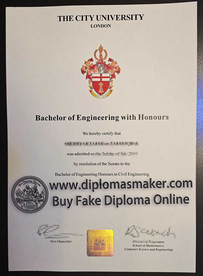 how to buy fake City University of London diploma