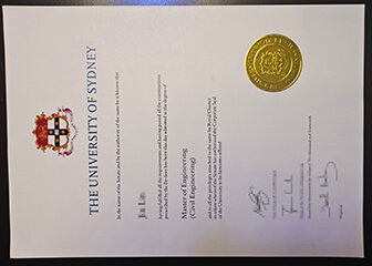 How to get the University of Sydney graduation certificate quickly?