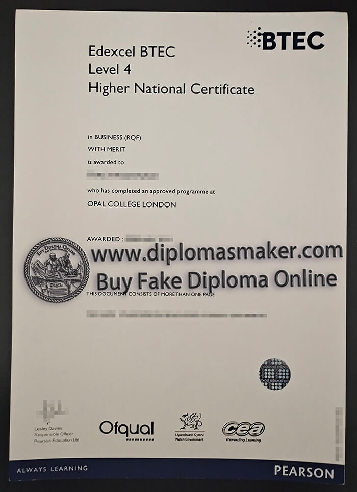 How to buy a fake BTEC certificate?