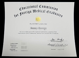 Where can I buy an ECFMG certificate?