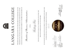 Can I buy Langara College diploma certificates and transcripts online?