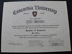 For a decent job. Buy a Concordia University diploma online.