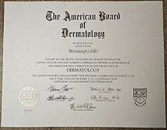 Where to buy a fake American Board of Dermatology (ABD) certificate?