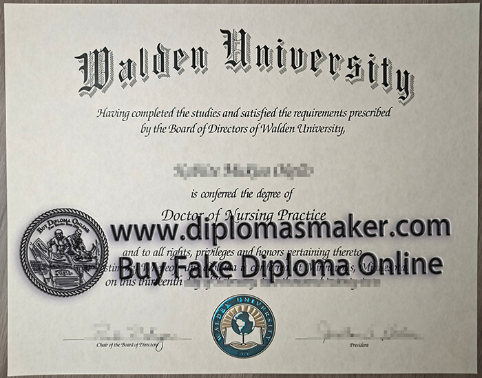 how to buy a fake Walden University diploma?