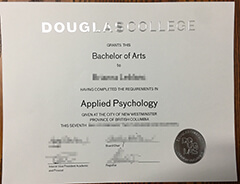 Can I buy a Douglas College diploma online? how much is it?