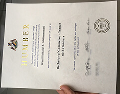 How much can I buy a Humber College diploma certificate?