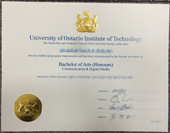 Buy fake Ontario Tech University diploma/transcript