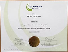 How to buy a fake Camosun College certificate?