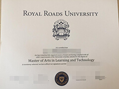 How much does it cost to order a Royal Roads University diploma certificate?
