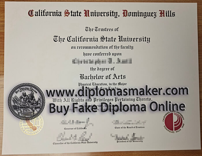 Buy CSUDH College of Extended & International Education diploma.