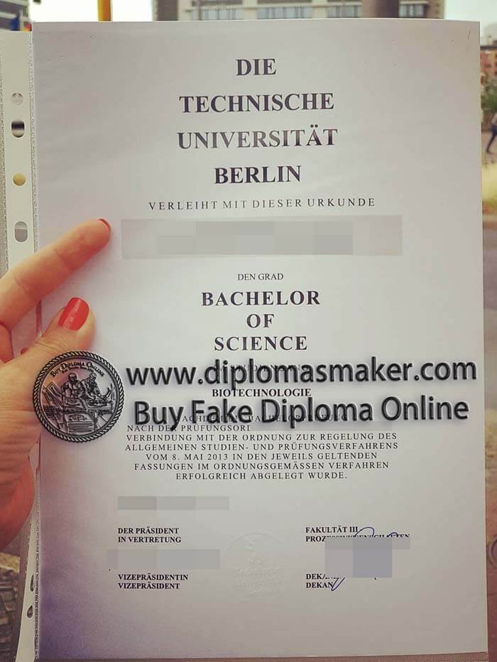 buy Berlin Institute of Technology diploma