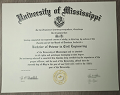 Where to buy a fake University of Mississippi diploma?