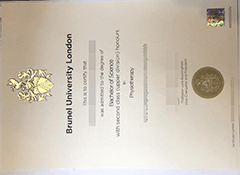 How to buy a fake brunel university london diploma?