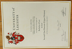 Buy fake University of Leicester diploma online.